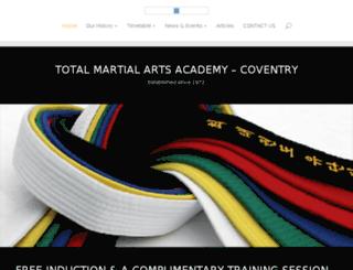 tma-mma-coventry.co.uk screenshot