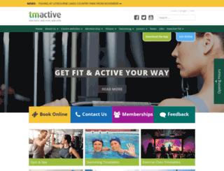 tmactive.co.uk screenshot