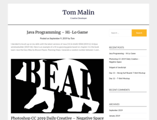 tmalin.com screenshot