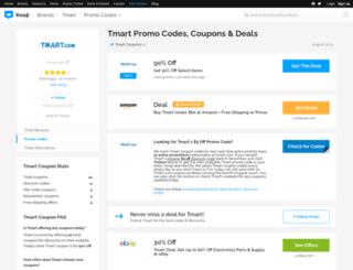 tmart.bluepromocode.com screenshot