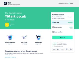 tmart.co.uk screenshot