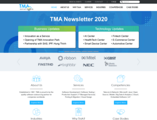tmasolutions.com screenshot
