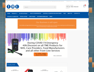 tmethermometers.com screenshot