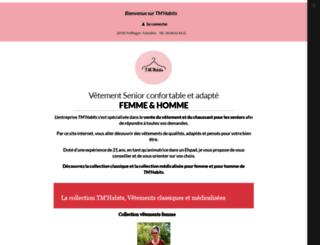 tmhabits-quimper.fr screenshot