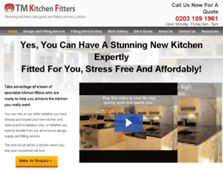 tmkitchenfitters.co.uk screenshot