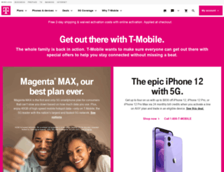 tmobile.net screenshot