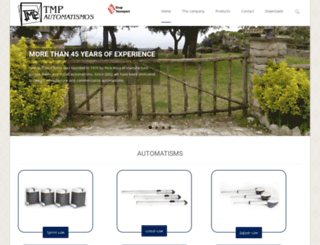 tmp-automatismes.com screenshot