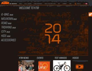 tmp.ktm-bikes.at screenshot