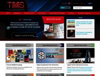 tms.org screenshot