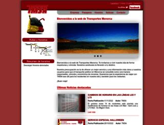 tmsa.es screenshot