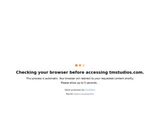 tmstudios.com screenshot