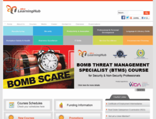 tmsweb.ntuclearninghub.com screenshot