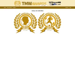 tmwawards.tuttomercatoweb.com screenshot