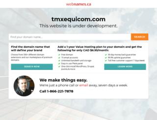tmxequicom.com screenshot