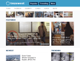 tmzewest.me screenshot