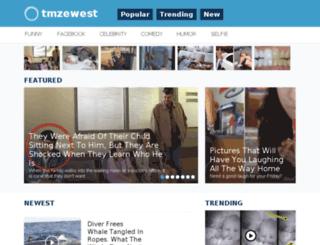 tmzewest.me screenshot