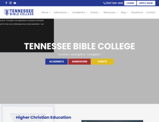 tn-biblecollege.edu screenshot