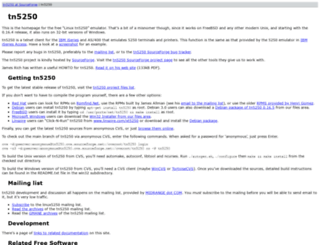 tn5250.sourceforge.net screenshot