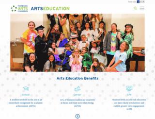 tnartseducation.org screenshot