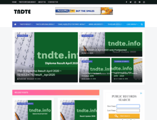 tndte.info screenshot