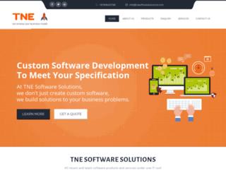 tnesoftwaresolutions.com screenshot