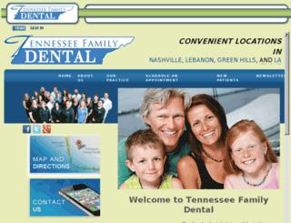 tnfamilydental.mydentalvisit.com screenshot