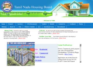 tnhb.gov.in screenshot