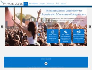 tnprivatelabel.com screenshot