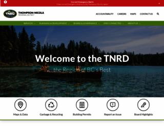 tnrd.ca screenshot