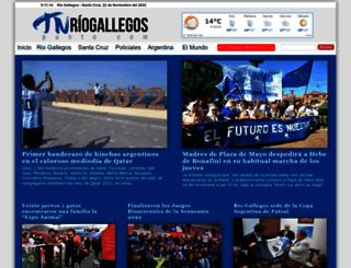 tnriogallegos.com screenshot