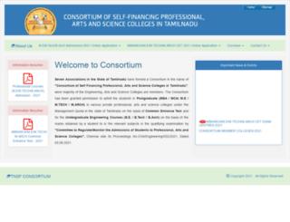 tnsfconsortium.org screenshot