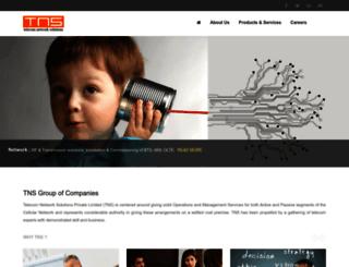 tnsworld.com screenshot