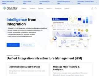 tnt.nastel.com screenshot