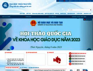 tnu.edu.vn screenshot