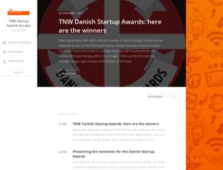 tnw-startup-awards-europe.pr.co screenshot