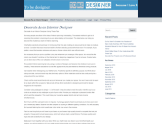 to-be-designer.com screenshot