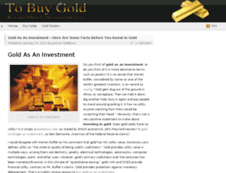 to-buy-gold.com screenshot