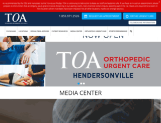 toa.com screenshot