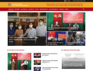 toaanquangnam.gov.vn screenshot