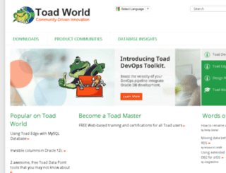 toadsoft.com screenshot