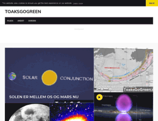 toaksgogreen.org screenshot