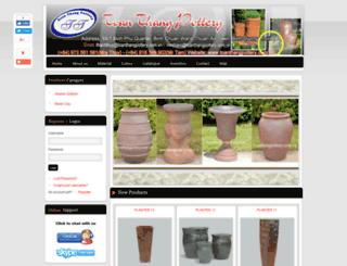toanthangpottery.com.vn screenshot