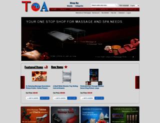 toaspa.com screenshot