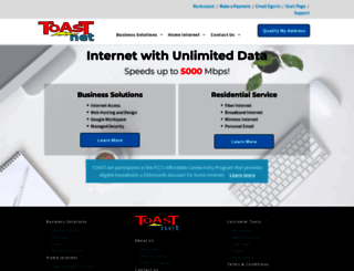 toast.net screenshot