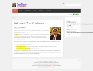 toastcoach.com screenshot
