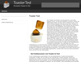 toaster-test.com screenshot