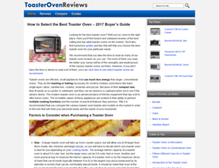 toasterovenreviews.com screenshot