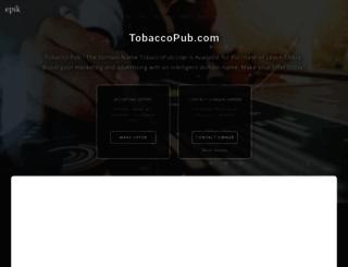 tobaccopub.com screenshot