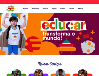 tocadacrianca.com.br screenshot