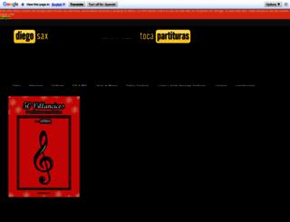 tocapartituras.com screenshot